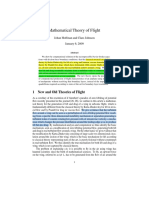 Theory of Flight