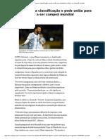 Messi comemora classificação e pede união para Argentina voltar a ser campeã mundial.pdf