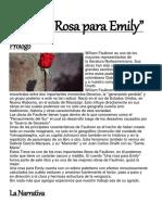Una Rosa Para Emily