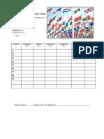 Score Sheet ( Mechanics UN FLag)