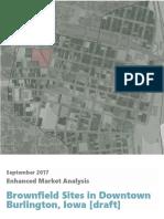 burlington downtown brownfield market analysis draft oct2017