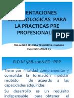 Orientaciones Metodologicas Para La Practicas Pre Profesionales
