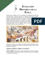 Lectura Evolucion Historica de La Etica