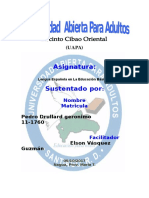 Tarea 6 Lengua Española