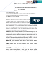 Resolución de problemas matemáticos con el método de Polya mediante el uso de Geogebra* (Corporación Universitaria Minuto de Dios)
