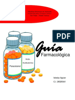 Guía farmacológica.
