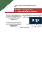Fadhilat Ayat 128 129 Surah AtTaubah.docx