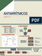 DIAPOSITIVAS ANTIARRITMICOS - 1B