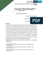 Alineación entre las guías de orientación de las pruebas Saber Pro y Saber Once. El caso del Razonamiento Cuantitativo (Universidad de Nariño)