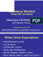 Winter 2017-18 Outlook