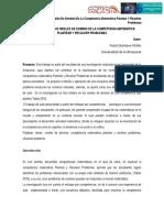 Movilización de los niveles de dominio de la competencia matemática plantear y resolver problemas. (Universidad de la Amazonia)