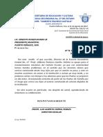OFICIO No.032 Mantenimiento Del Camion Escolar