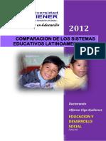 Comparacion Sistemas Educativos Latinoamericanos