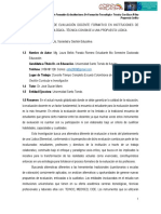 Sistema de evaluación docente formativo en instituciones de formación tecnológica- técnica con base a una propuesta lúdica (Universidad Santo Tomás de Aquino)