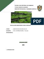 Trab Semestral Agro Hidroponia
