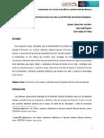 Fortalecimiento de la lectura en voz alta en la Institución Educativa Riomanso (Universidad del Tolima)