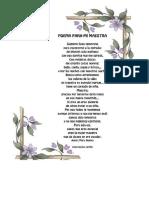 Poema Para La Profesora