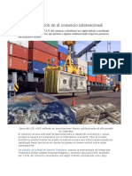 Corrupción en El Comercio Internacional