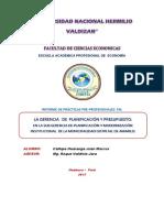 Informe Final de Practicas Pre Profesionales Callupe Huaranga Juan