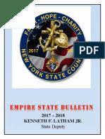 Empre State Bulletin - October 2017