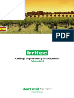 catalogode irritec 2014