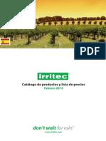 catalogode irritec 2014