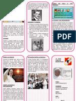 Triptico Del Papa Francisco