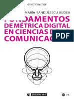 Fundamentos de Métrica Digital en Ciencias de La Comunicación Muestra