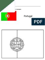 Bandeira Portugal