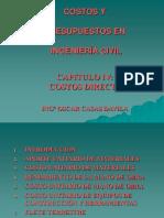 COSTOS Y PRESUPUESTOS - CAP IV-COSTO DIRECTO (R1).ppt