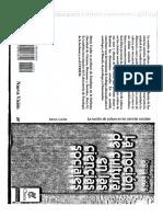 Cuche D., La Nocion de Cultura en Las Ciencias Sociales [Pp.5-36]