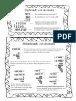 Como Dividir y Multiplicar