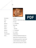 Determinasi Mineral