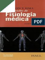 COMPENDIO DE FISIOLOGÍA MEDICA GUYTON 12EDICIÒN