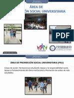 Promocion Social Universitaria