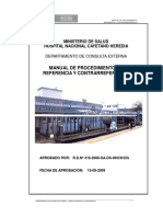 Manual Referencia y Contrarreferencia