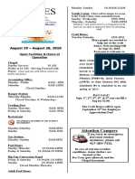 9-Lines Newsletter - August 19 – August 26, 2010