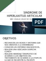 Sindrome de Hiperlaxitud Articular Manejo Rehabilitador
