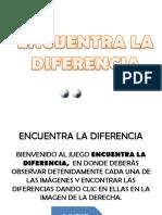 Encuentra La Diferenccia