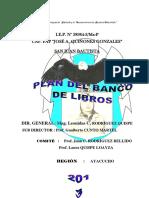 Plan Banco Del Libro