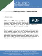 Formato Declaracion Informativa Del Impuesto Al Hospedaje