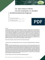 Artigo Oiapoque Aqui Começa o Brasil