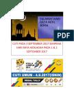 Cuti Hari Raya Haji 2017
