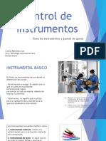 Control de Instrument Os