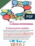 CAP. 3 EL MENSAJE INTERPERSONAL.ppt