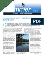 April-May 2010 Skimmer Newsletter Francis M. Weston Audubon Society