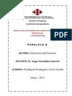 Estructura Del Proceso - DeBER