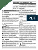 Manual Cebora Mig253c