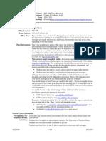 UT Dallas Syllabus for sce8398.0t1.10f taught by Cynthia Ledbetter (ledbeter)