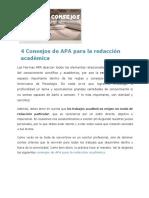4 Consejos de APA para la redacción académica.pdf